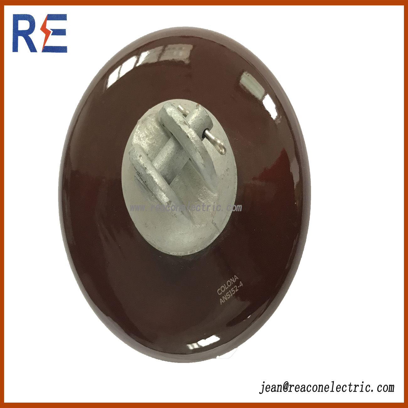 Disc Suspension Porcelain Ceramic Insulator