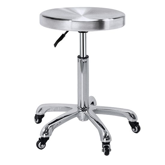 Salon Stools Wholesale, Stainless Steel Top Cutting Stools for Sale Zc09