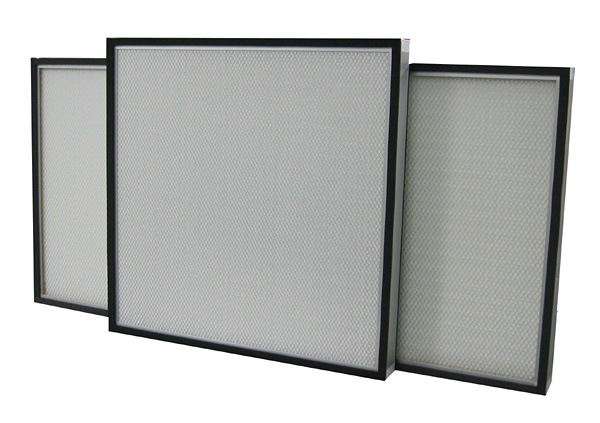 Galvanized Zinc Steel Motor 220V Clean Room Fan Filter Unit