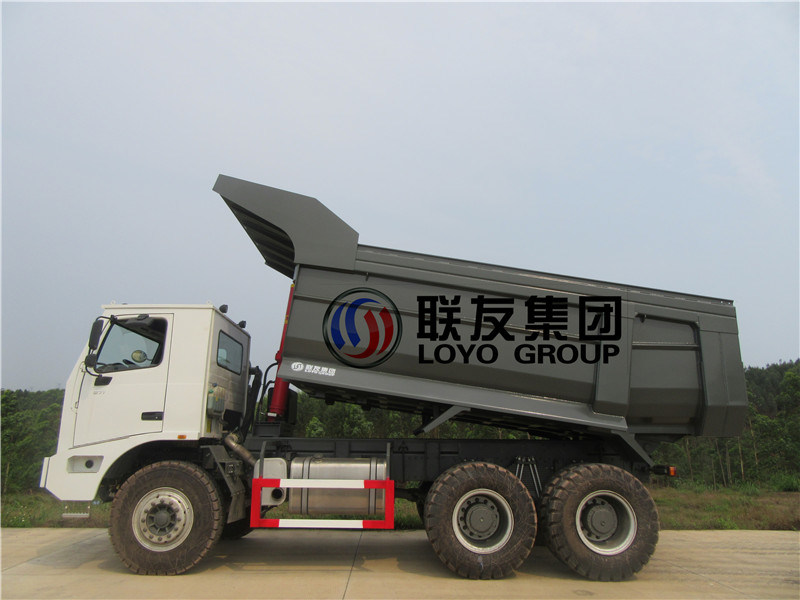 Dump Trucks, 70t Coal Mine Tipper. Tractor Truck Trailer