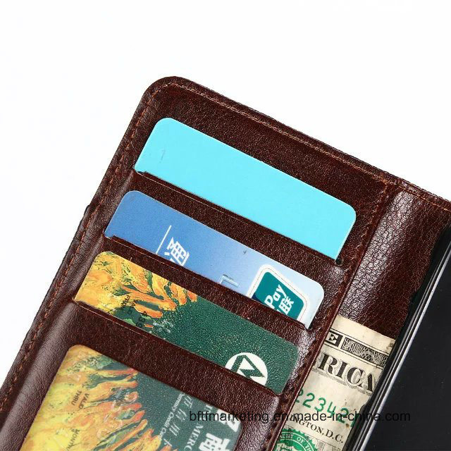 Jeans Canvas Classic Wallet Cell Phone Case for iPhone