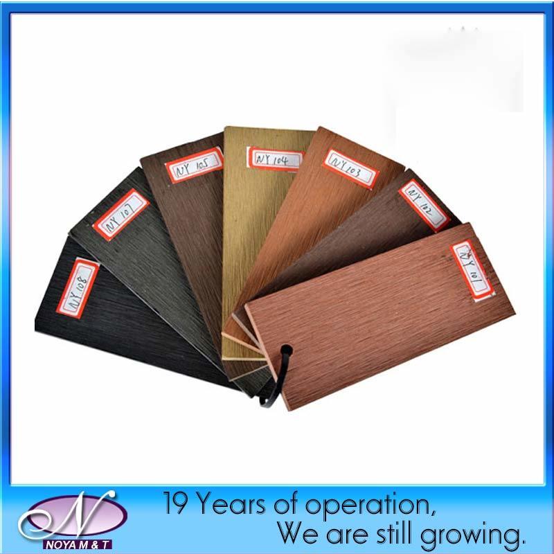 Wood Plastic Composite Outdoor WPC Wood Flooring Decking Tiles
