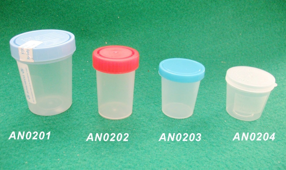 Disposable PP Material Hospital 30ml/40ml/60ml/120ml Urine Container