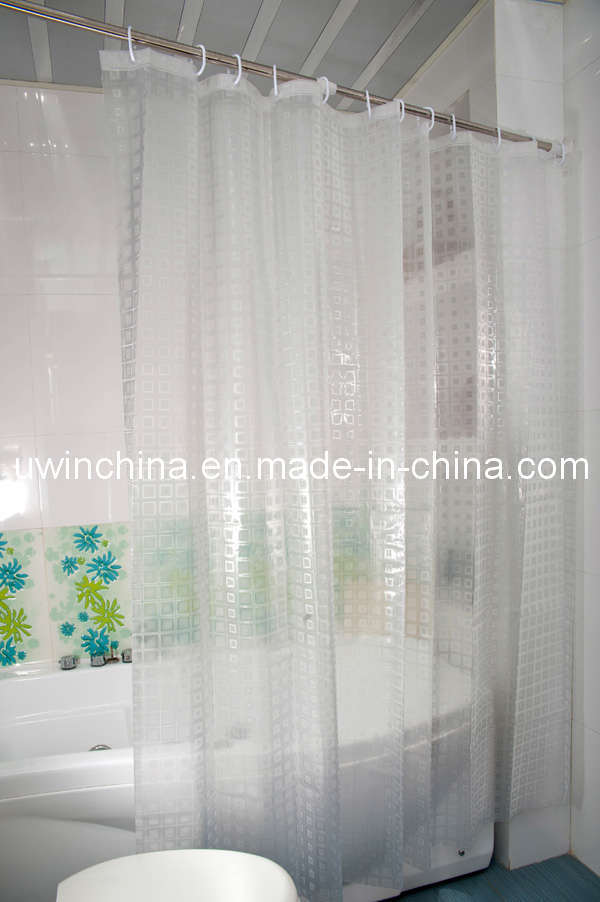 china 3d eva clear bathroom curtain shower curtain photos
