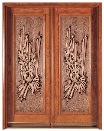 Decorative entry door delightful doors pinterest for Decorative entrance doors