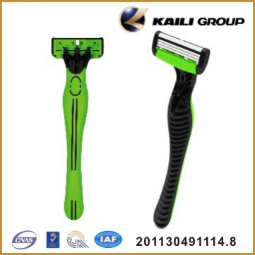 High Quality Four Blade Shaving Razor with Stainless Steel Blade