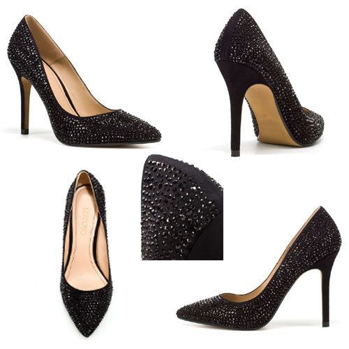 Stiletto Heels Suede Leather Pointy-Toe Pumps Women Shoes (LTYD1030