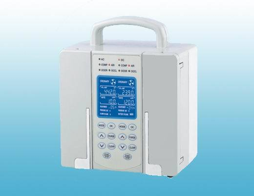 Double Channel Infusion Pump