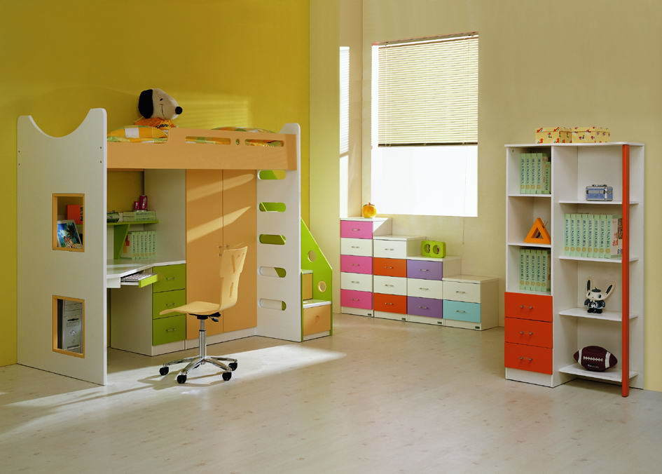 China Children Furniture Bedroom Set Kids Furniture Baby