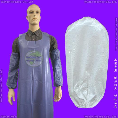 Waterproof Medical/Plastic/Polyethylene/Poly/HDPE/LDPE/PVC/PP+PE/PP/SMS/Nonwoven Disposable PE Sleeve Cover, Disposable PE Oversleeves, Disposable PE Sleevelets