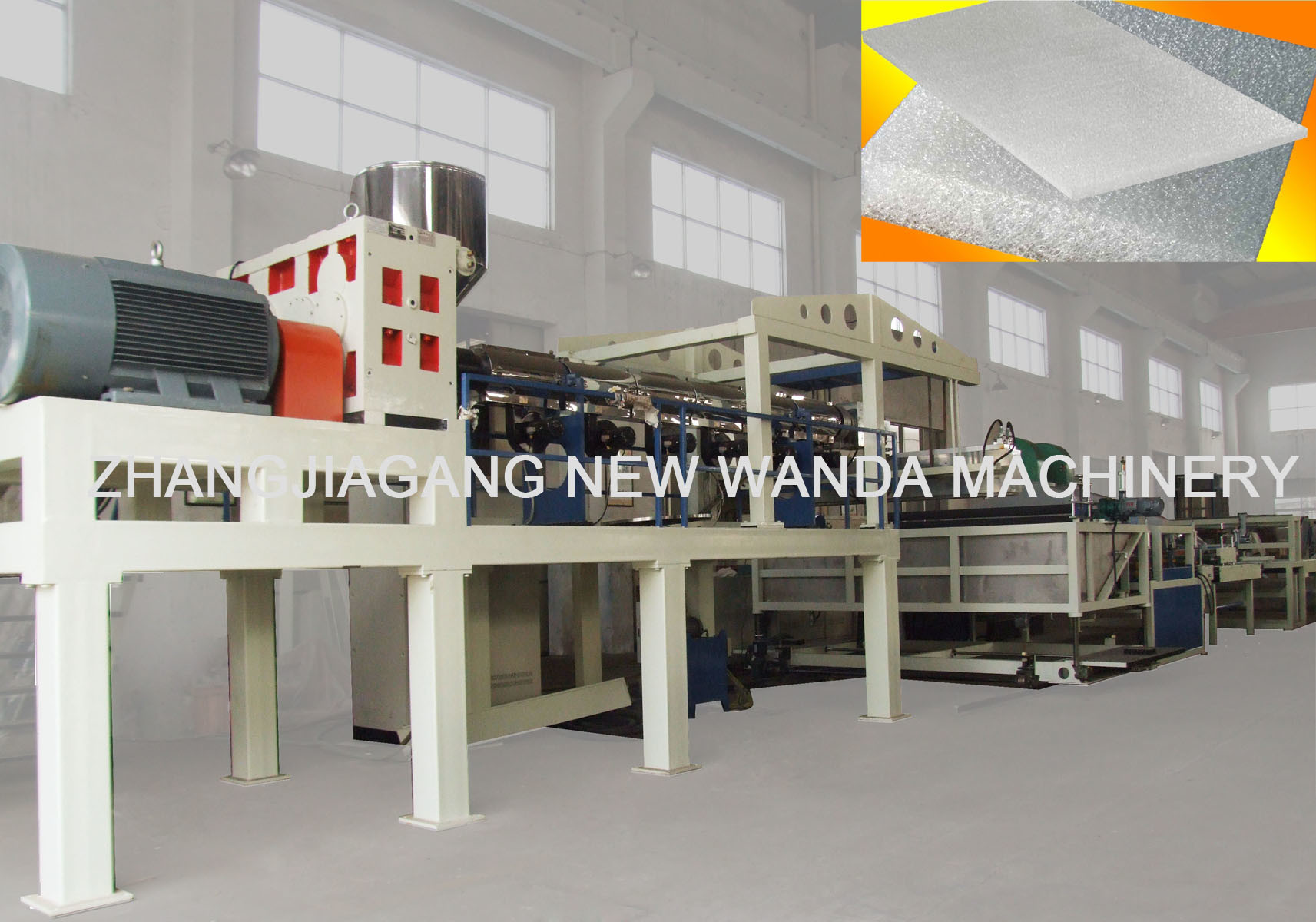 EVA Mattress Extrusion Line