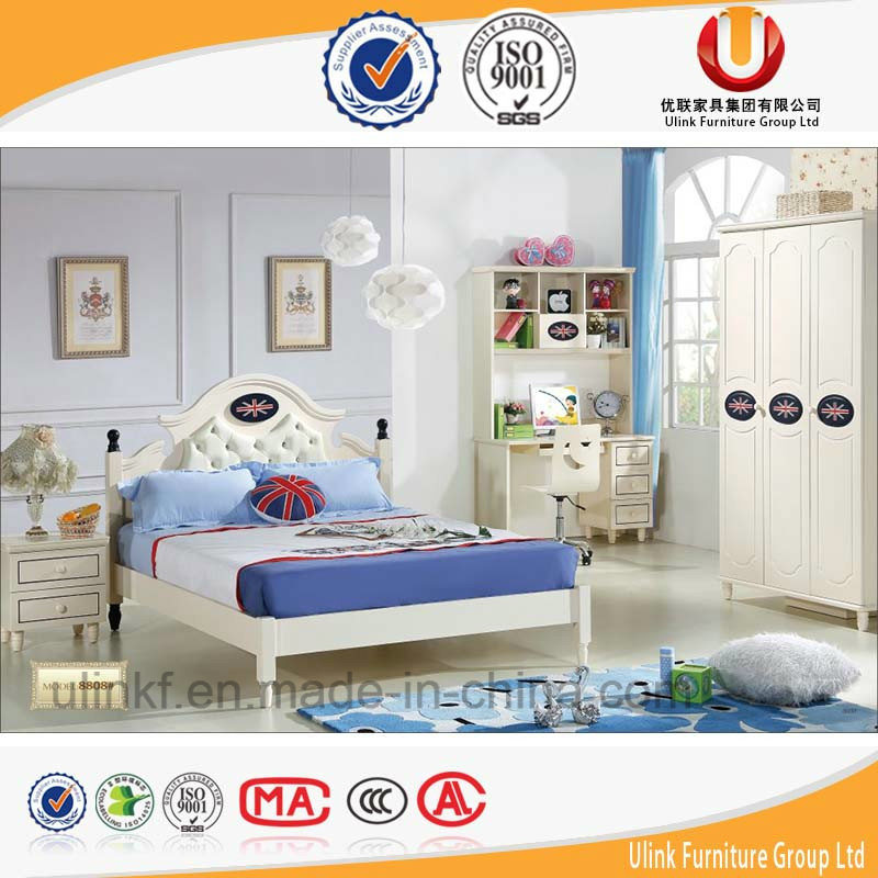 2016 Hot Sale Colourful Wooden Kids Bed Children Bedroom Furniture (UL-HE803)