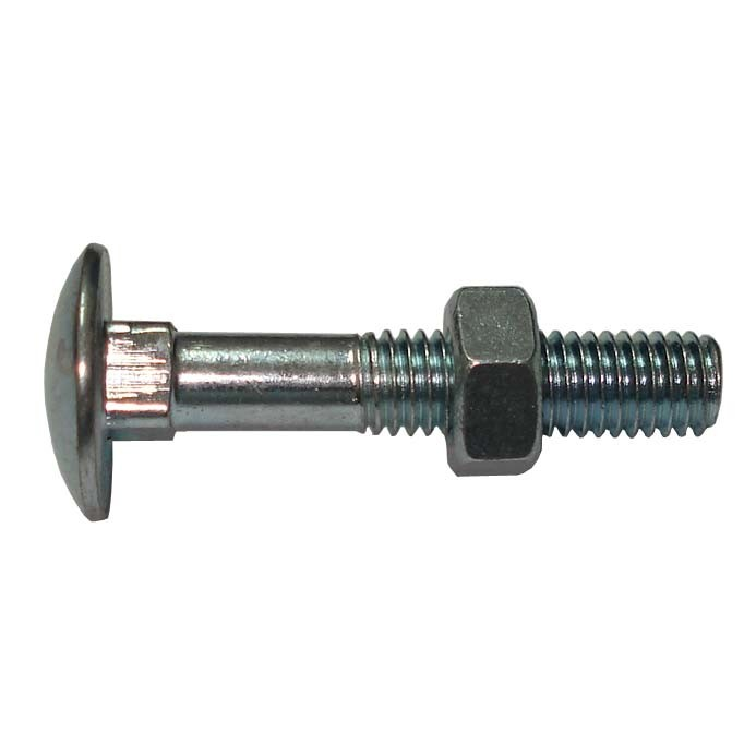 DIN603/555 Carriage Bolt with Hex Nut