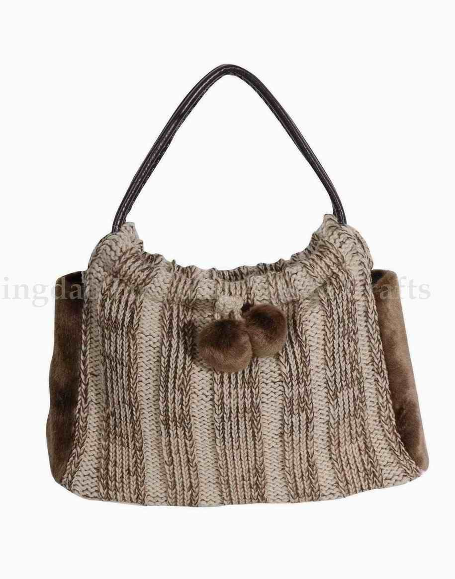 China Crochet Bag (FY8063) - China Crochet Bag, Wool Bag