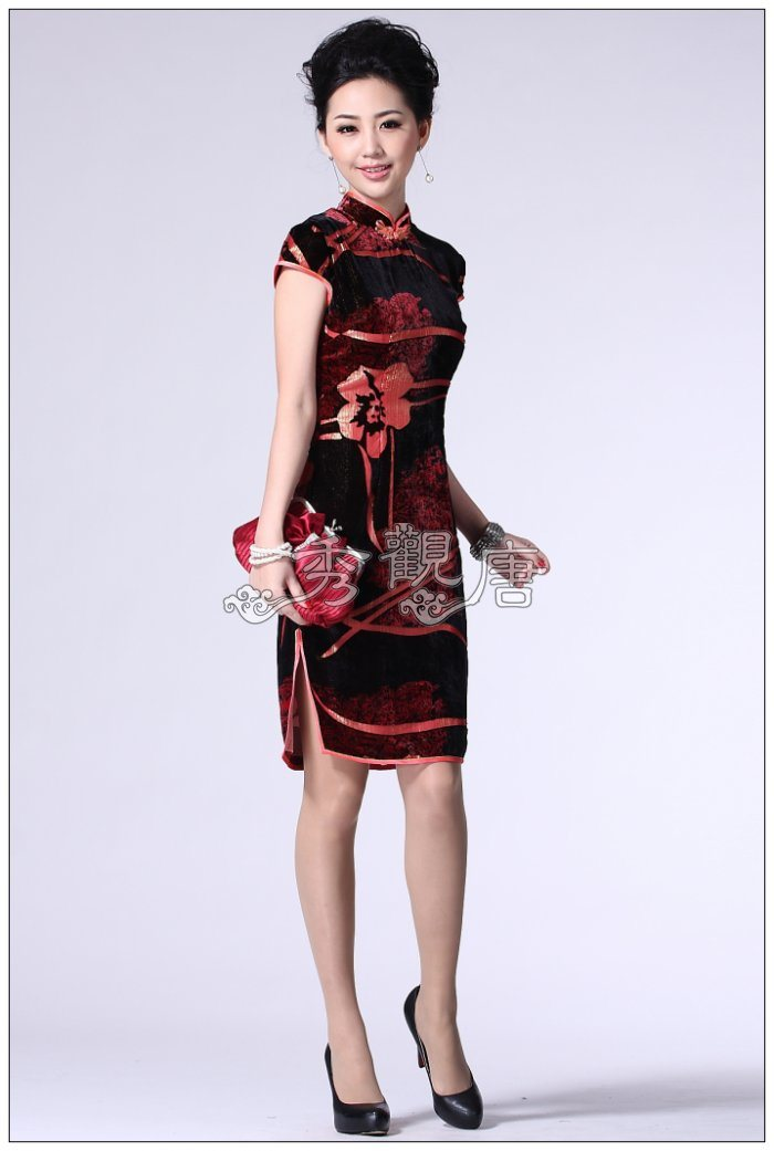 China cheongsam for westerner china cheongsam fashion cheongsam