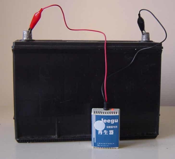 Battery rejuvenator schematic