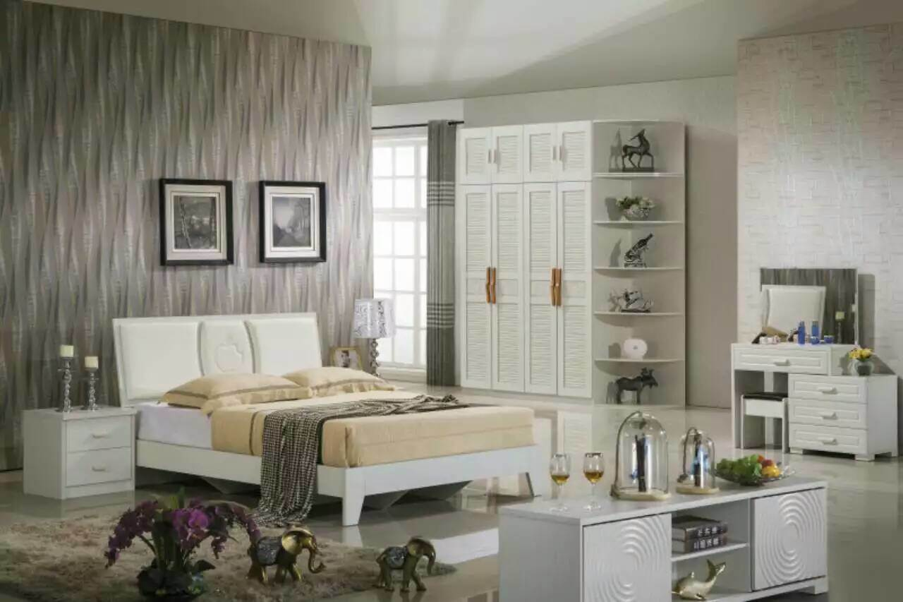 High Quality Cheap Modern Wardrobe, Fashion Bedroom Sets Furniture (9C012)