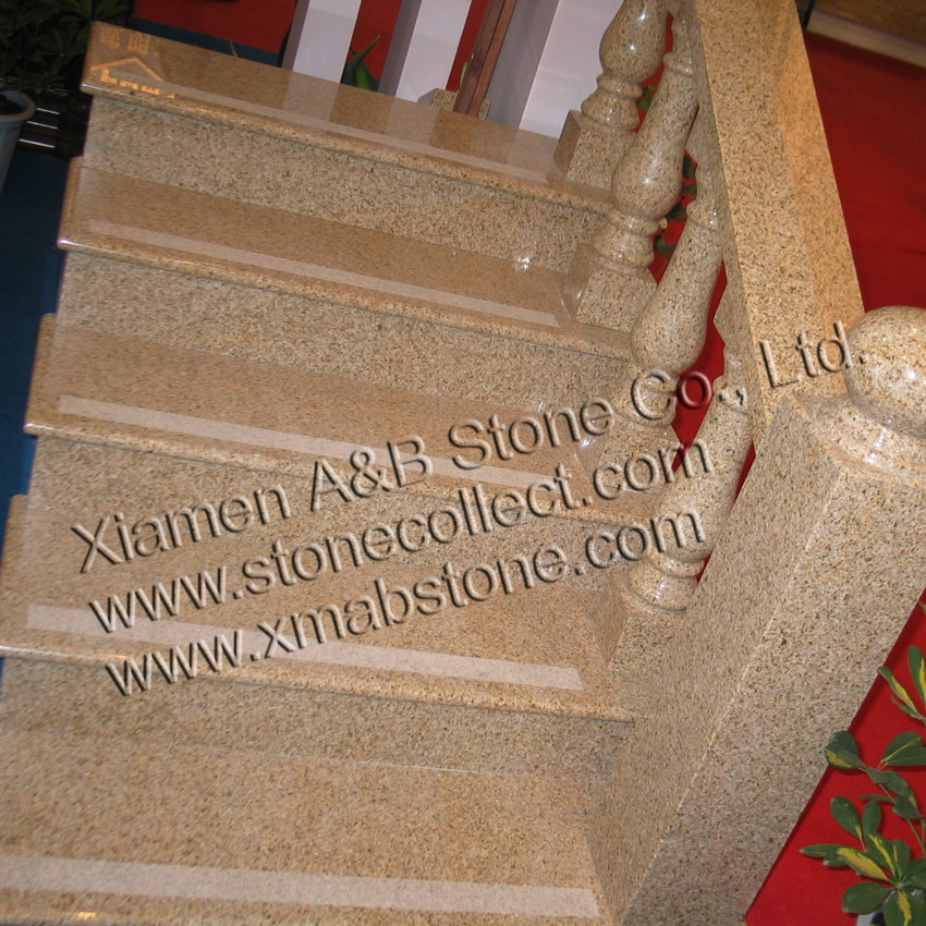 Natural Stone Granite Steps/ Stair (AB-SG682)