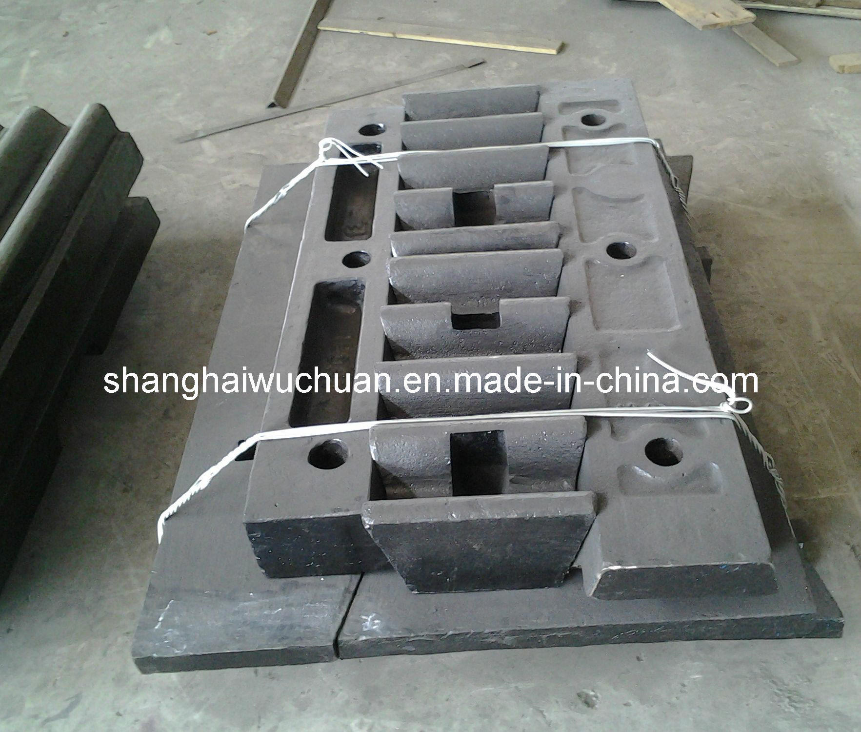 Manganese Jaw Parts for Jaw Crusher