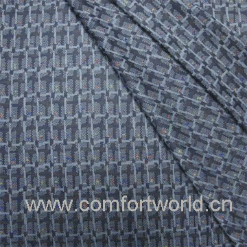 Knitting Jacquard Fabric with Polyester