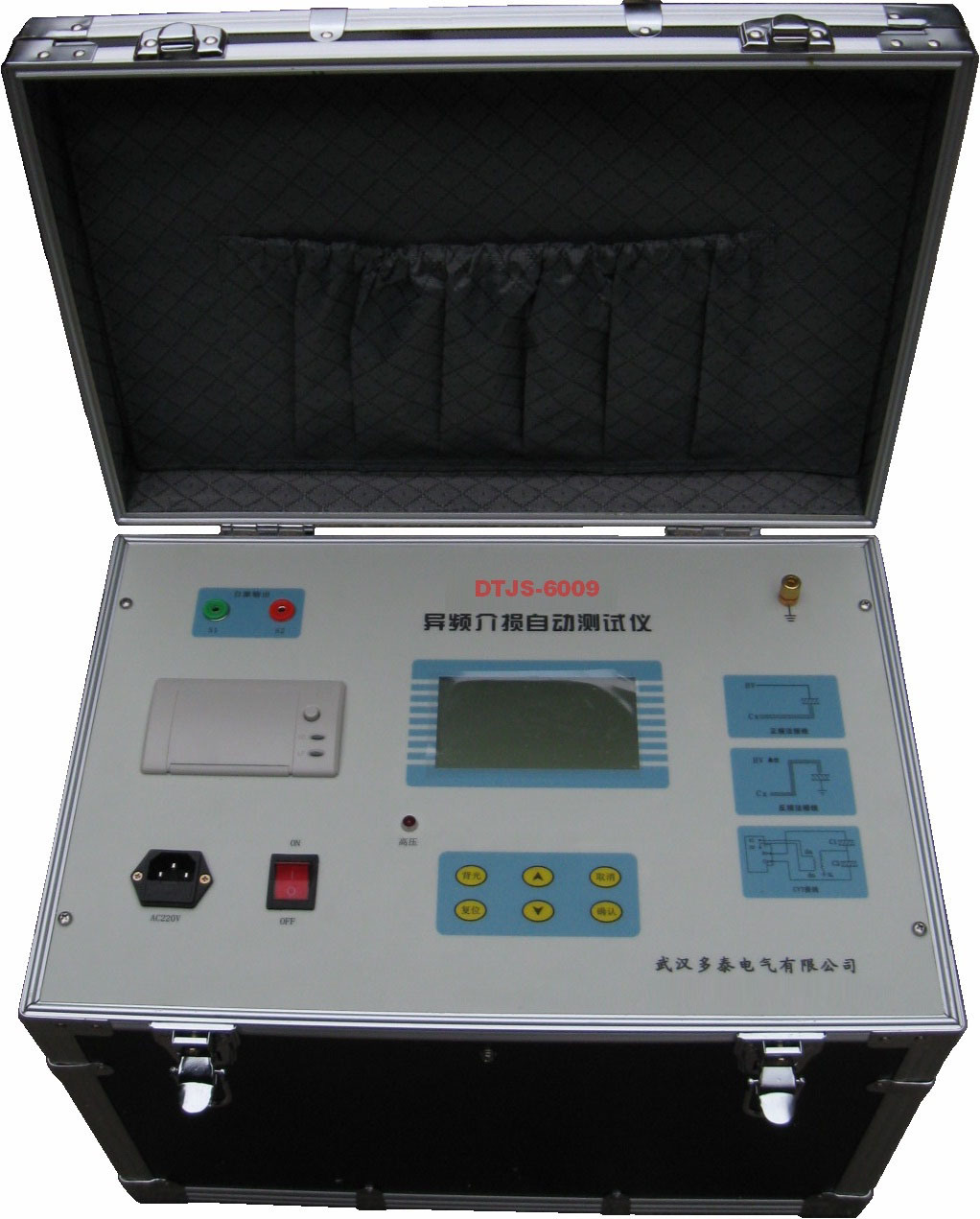 Lastcheck Transformer Tester : China transformer capacity and dissipation factor test set