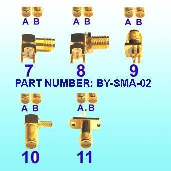 SMA Connectors, RF Connector, SMB Connector, Fakra Connector, MMCX Connector, Cable (Connector factory)