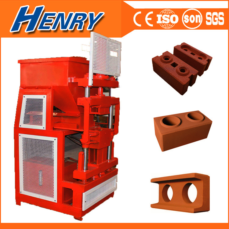 Hr2-10 Automatic Hydraulic Soil Interlocking Brick Making Machine Sale in Kenya