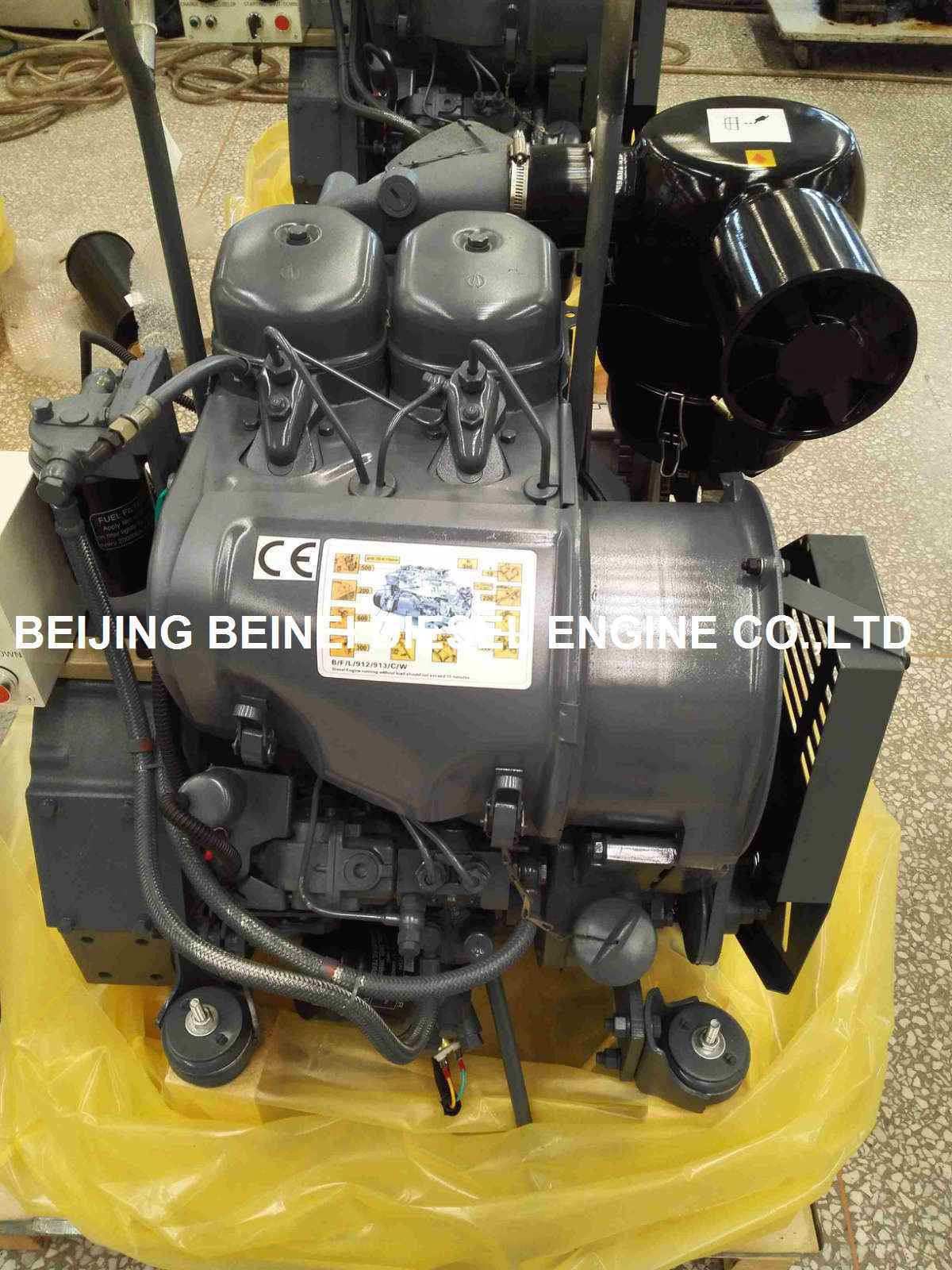Genset Diesel Engine Air Cooled F2l912 1500 Rpm