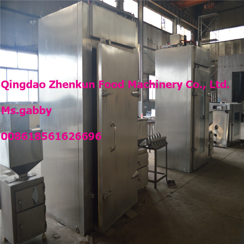 Smoking Machine / Meat Smoker / Automatic Meat Fish Sausage Smokehouse
