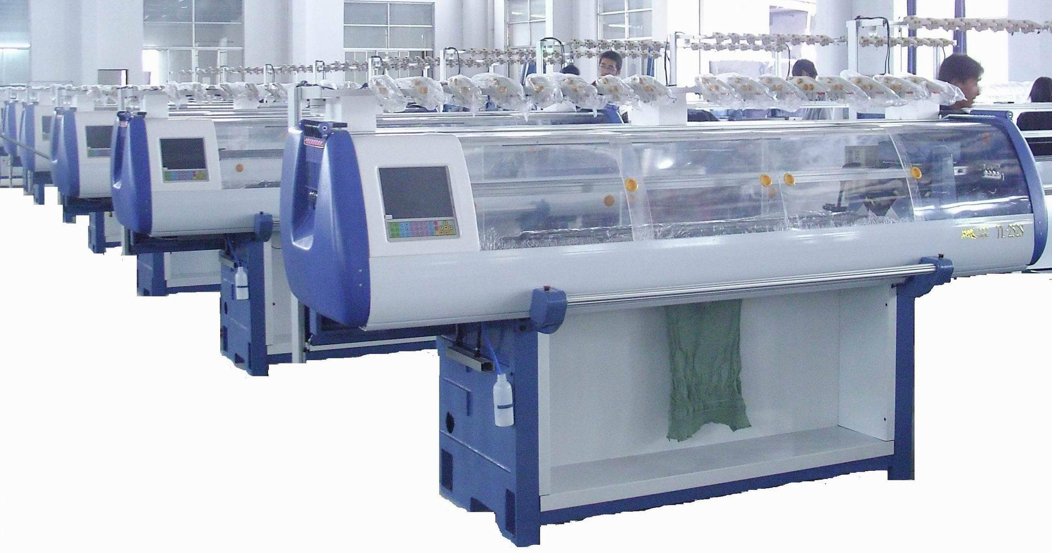 Knitting Machines : China computerized flat knitting machine tl s photos