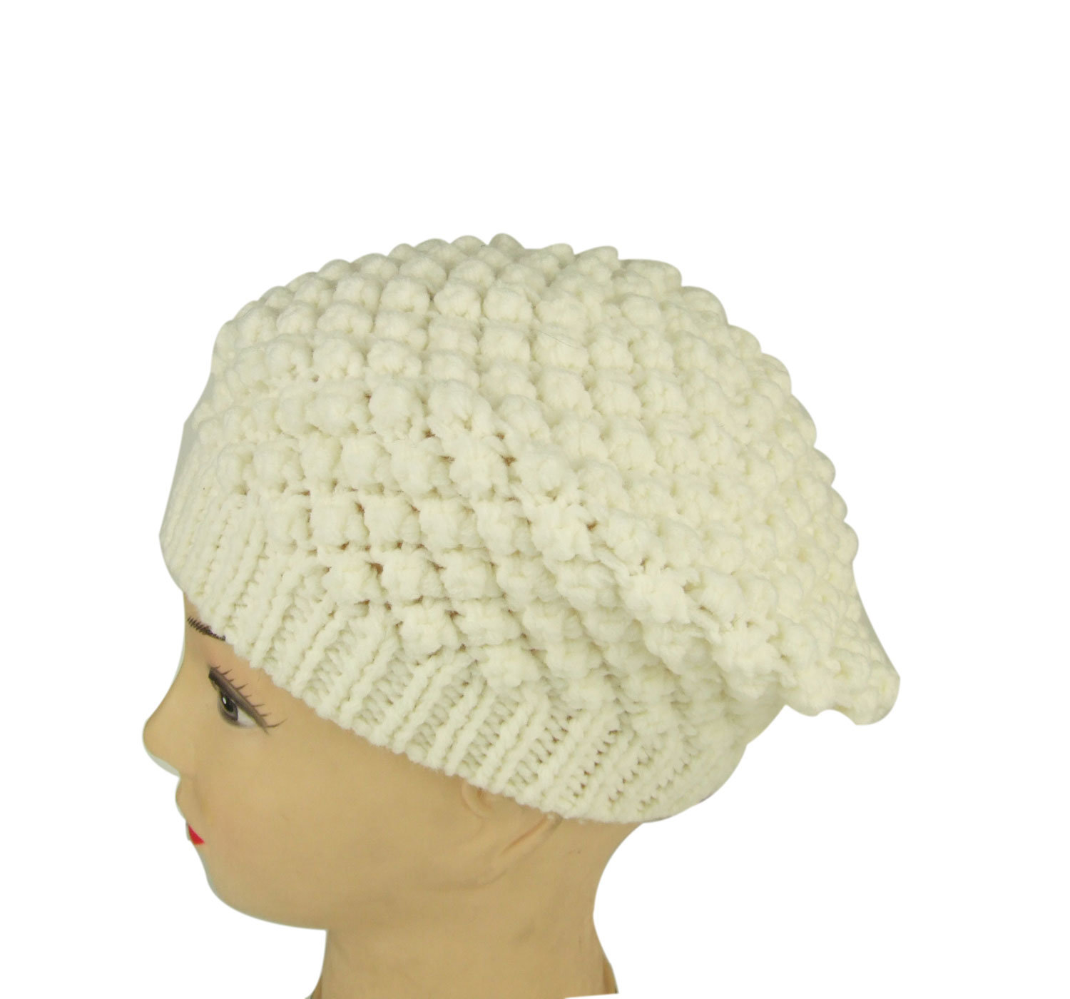 China Ladies Knitted Beret Crochet Beret - China Knitted Beret, Beret