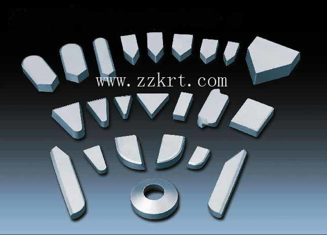Good Wear Resistant Tungsten Carbide Brazed Tips for Cutting Insecurts