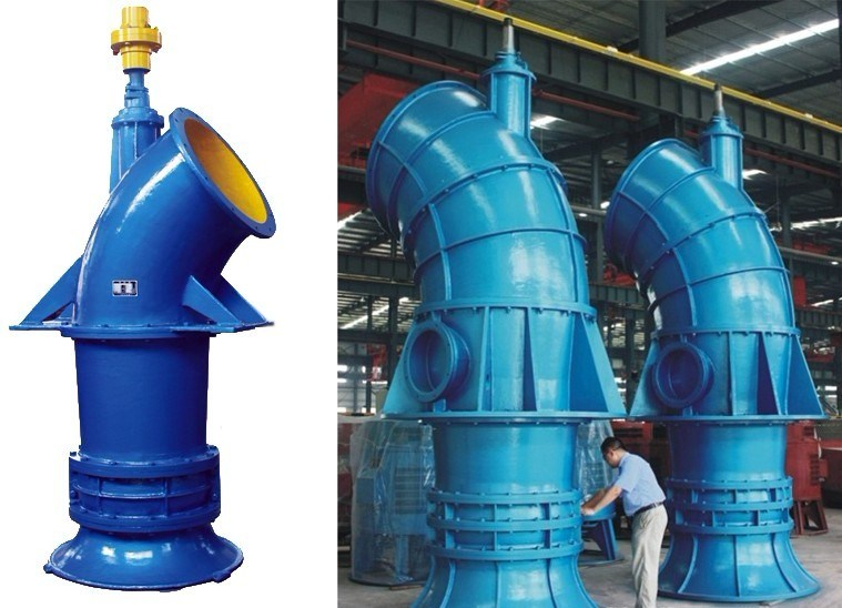 Big Flow Vertical Axial Flow Pump with Diesel Engine