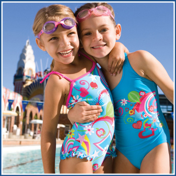 KIDS SWIMWEAR MODEL PICS