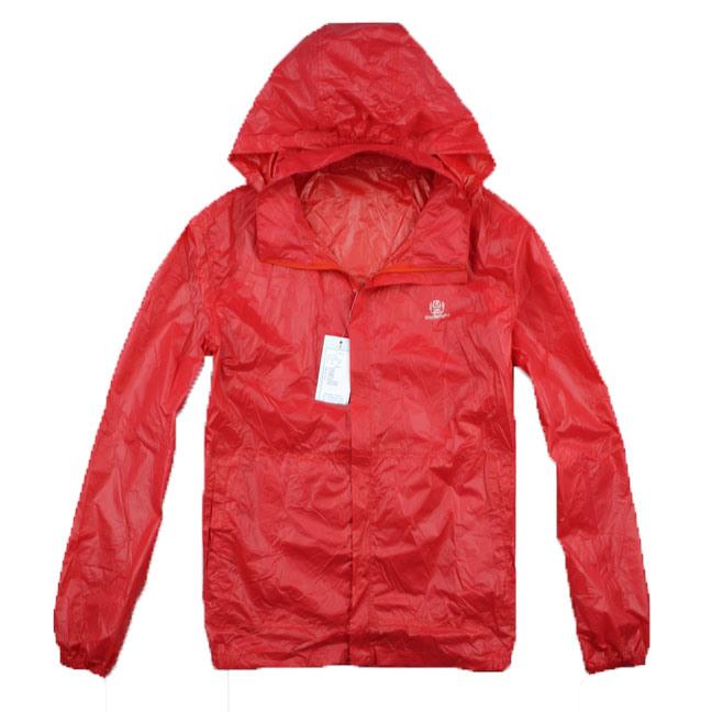 Fashionable: rain jacket
