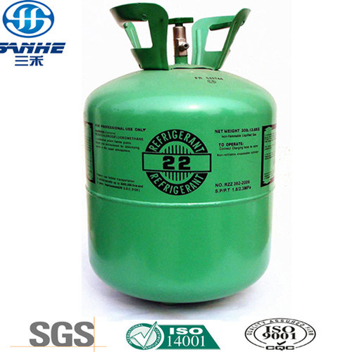 Manufactory Supply High Quality Refrigerant Gas R22 (SANHE Brand)