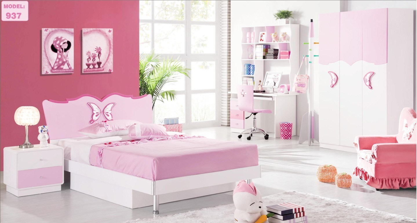 China Youth Kids Bedroom Furniture Home Decorators