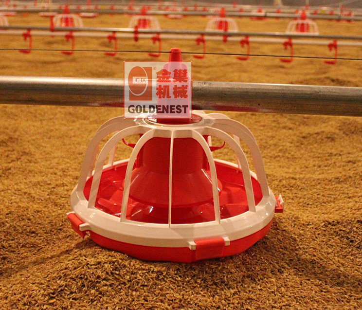 China Poultry Feeder Of Broiler Plastic Pan Feeder
