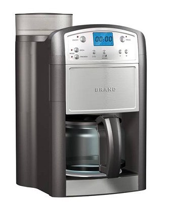 Coffee Maker With Coffee Grinder : China Auto Coffee Maker with Grinder (232406) - China coffee maker, coffee grinder