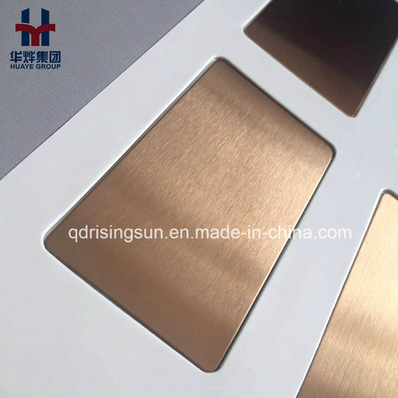 High Quality Stainless Steel Colored Sheet for Elevator Wall Door Building Project Decoration