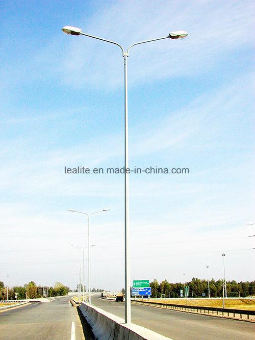 Outdoor Lighting Galvanized Steel Light Pole