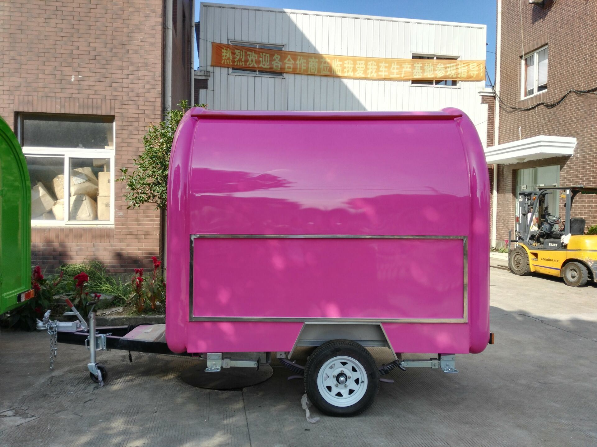 Mobile Coffee Trailer for Australia Sale