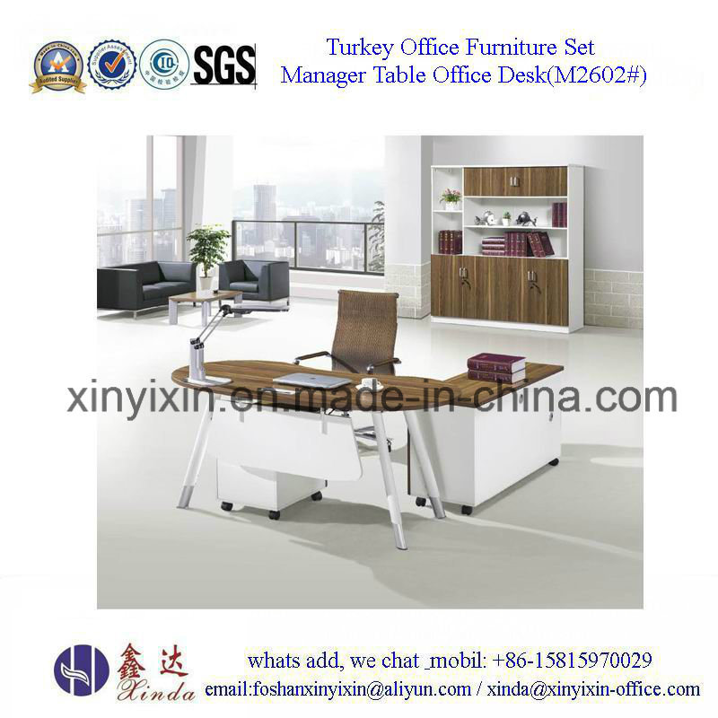 European Design Office Desk Wooden Furniture (M2602#)
