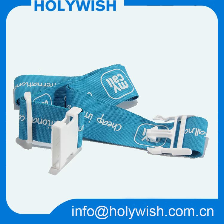 Wholesale Adjustable Tsa Locking Airport Luggage Strap