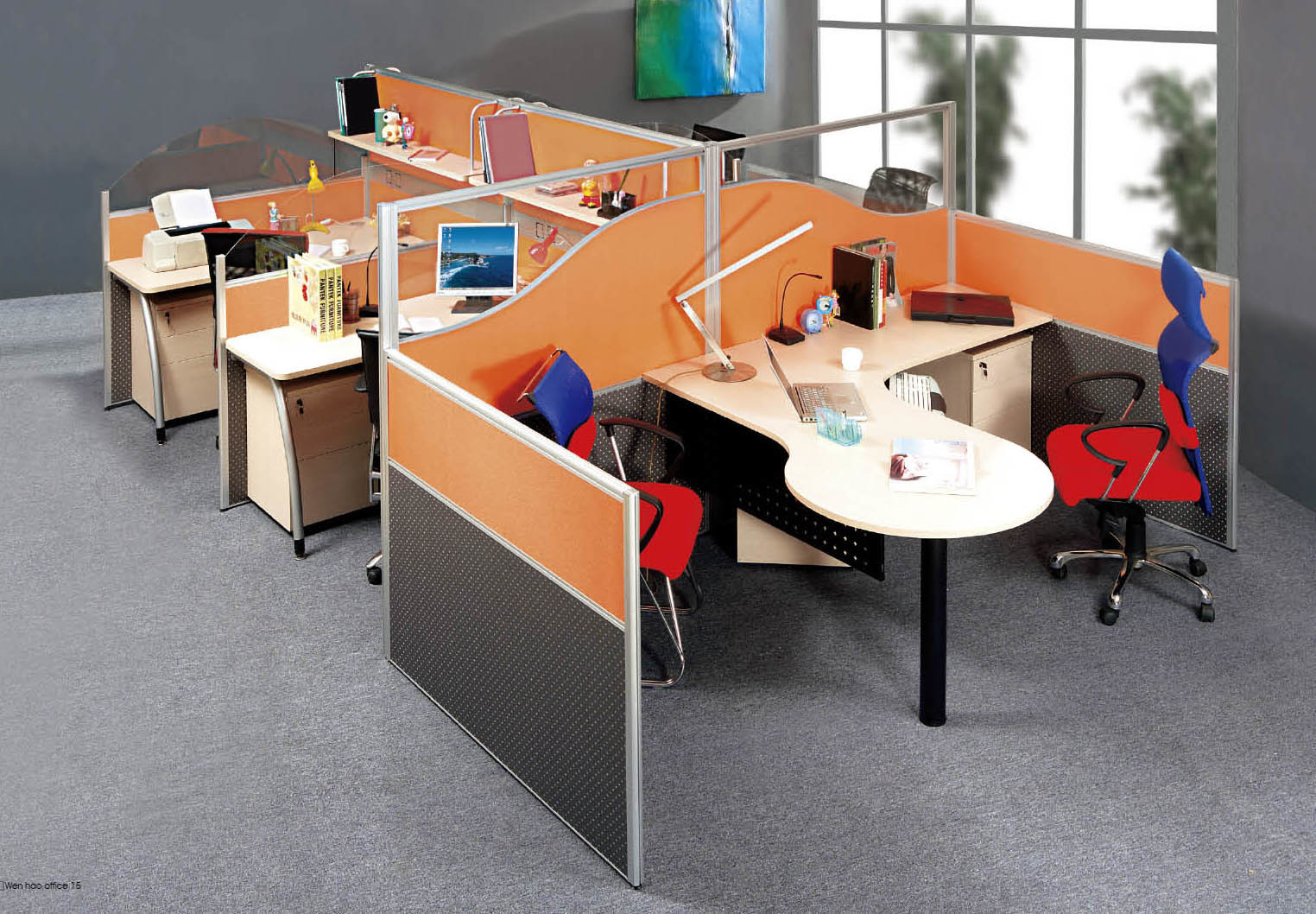 Modern Wooden Furniture Office Computer Table