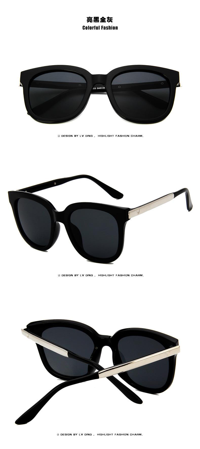 Summer Women Men Retro Glasses Vintage Designer Eyewear Outdoor Sunglasses