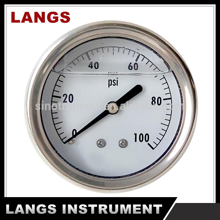 019 Liquid Filled Pressure Gauge