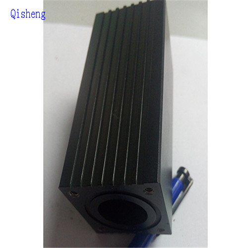 Heat Sink, Black Anodized, Color Customized