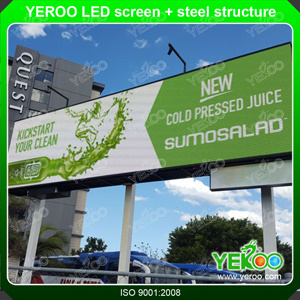 High Quality Low Price LED Screen Outdoor Billboard Advertising Display