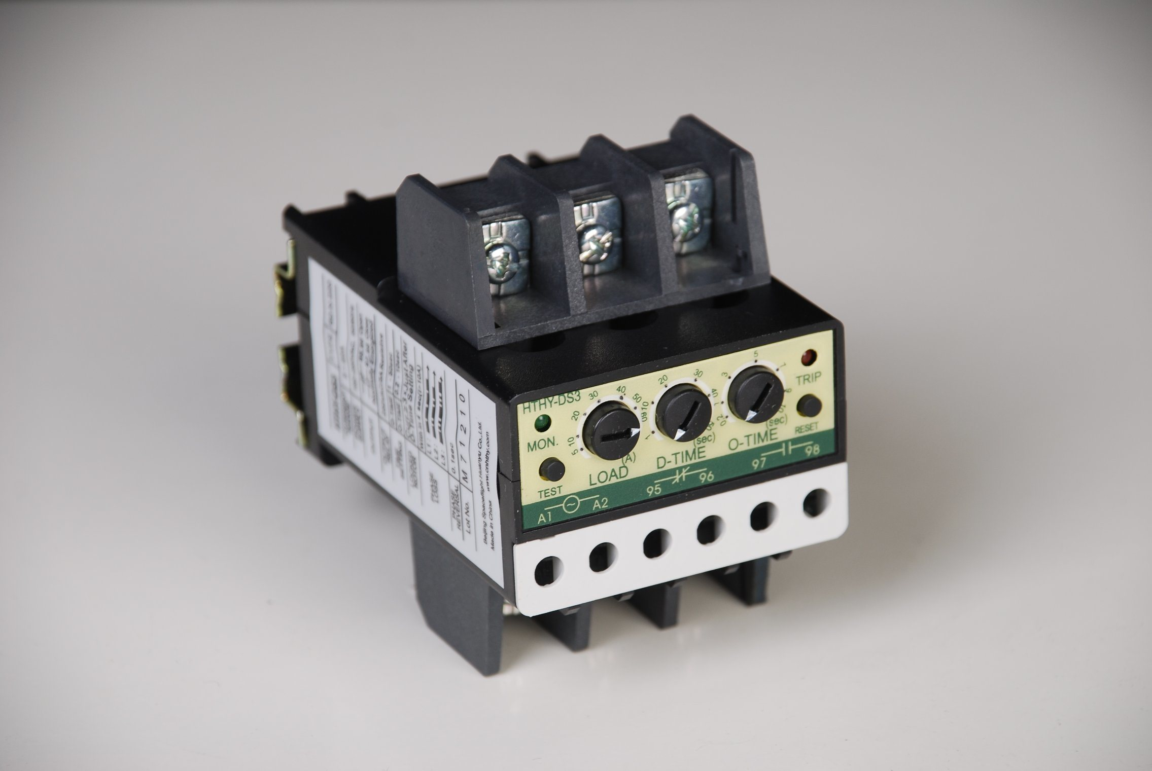 Electronic Overload Protective Relay for Motor or Generator